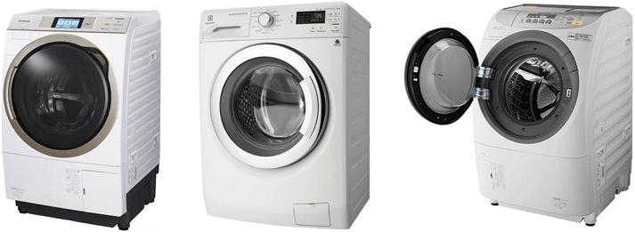 ドラム洗濯機3台
