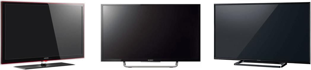 テレビ3台